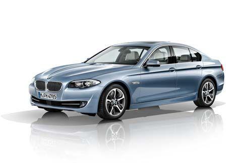 BMW 5-Series ActiveHybrid 5 ซีดานหรูรักสะอาด 335 แรงม้า แรงบิด 450 นิวตันเมตร