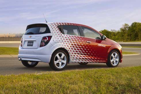 Chevrolet ประกาศแผนจำหน่ายชุดแต่ง Sonic/Aveo Z-Spec รุ่นปี 2012