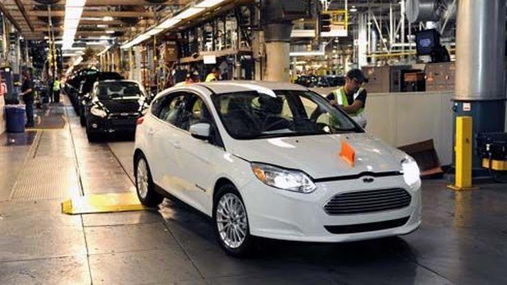 ได้ฤกษ์! Ford เริ่มเดินสายการผลิต Focus Electric รถไฟฟ้า 5 ที่นั่งรุ่นแรกของโลก
