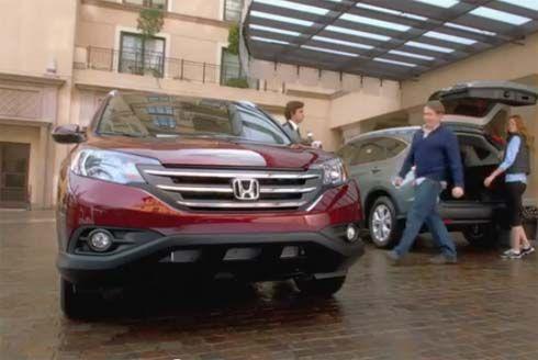 Honda CR-V โฉมใหม่ในโฆษณา Super Bowl XLVI ยาวๆกับ Matthew Broderick