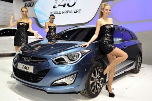 All-New Hyundai i40 Estate ปี 2012 ปรากฏสู่สายตาสาธารชน ครั้งแรกในโลกที่เจนีวา