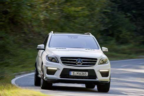 เผยโฉม Mercedes-Benz ML63 AMG รุ่นปี 2012 ประหยัดน้ำมันขึ้นกว่าเดิม 33%
