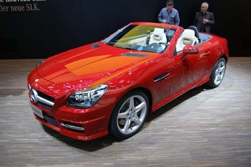 Mercedes-Benz SLK-Class รุ่นปี 2012 โผล่ที่เจนีวา เริ่มขายแล้วในเยอรมันนี