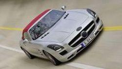 Mercedes-Benz เผยภาพต้นแบบ SLS AMG Roadster ก่อนเปิดตัวที่แฟรงค์เฟิร์ต