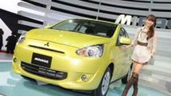 เปิดตัวอย่างเป็นทางการ Mitsubishi Mirage Eco Car ที่งาน 2011 Tokyo Motor Show