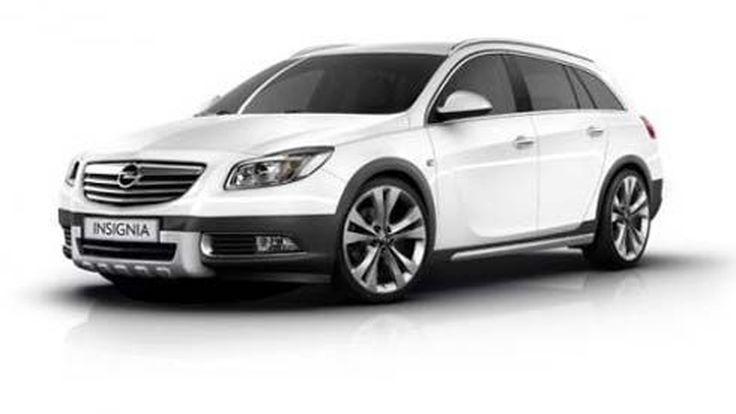 Opel Insignia Sports Tourer CrossFour สปอร์ตวากอน หลุดออกมาให้ชมกันก่อน 2 ภาพ