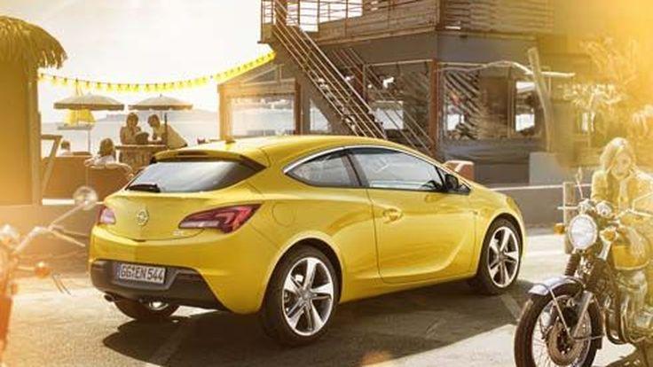 เผยโฉม Opel/Vauxhall Astra GTC รุ่นปี 2012 แฮทช์ 3 ประตู ก่อนเปิดตัวปลายปี