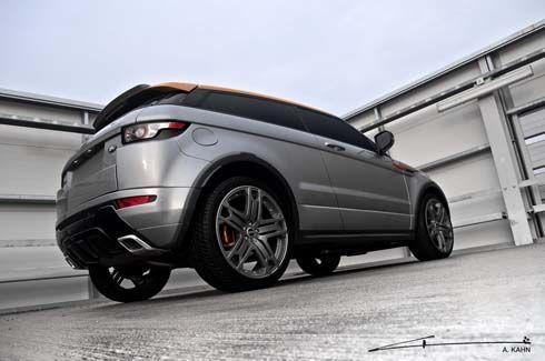 Range Rover Evoque ครอสโอเวอร์ตัวหรู ปรับแต่งโฉมทั้งในและนอก โดย Project Kahn