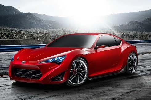 Scion เปิดตัว FR-S Concept สปอร์ตคูเป้ตัวใหม่ กลายร่างมาจาก Toyota FT-86