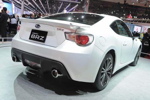 Subaru BRZ รุ่น production กับใบหน้างามๆ ในภาพทีเซอร์ชุดล่าสุด