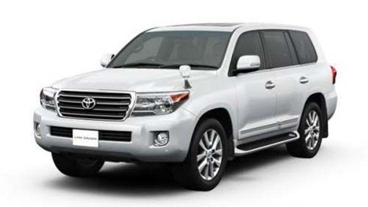 Toyota Land Cruiser รุ่นปี 2012 โฉมใหม่ไมเนอร์เชนจ์ กระตุ้นตลาดแดนซามูไร