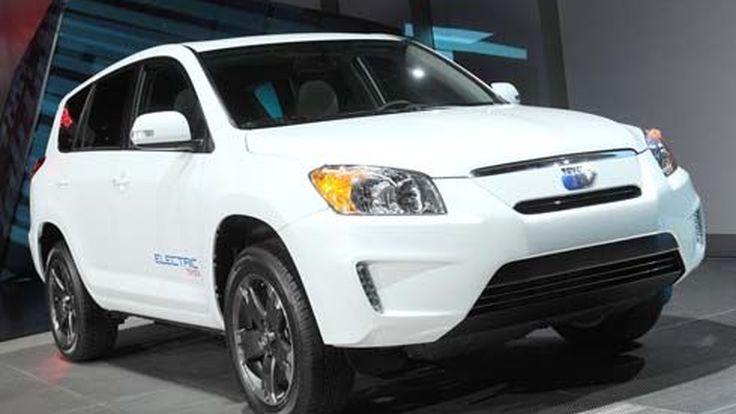 มาแน่ปีหน้า Toyota RAV4 EV รถ SUV เล็กพลังงานไฟฟ้า  พร้อมมีจำหน่ายให้ลูกค้าทั่วไป