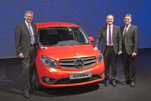 ใหม่ All-New Mercedes-Benz Citan ปี 2014 รถบรรทุกขนาดเล็ก ดีไซน์ใหม่ทั้งคัน
