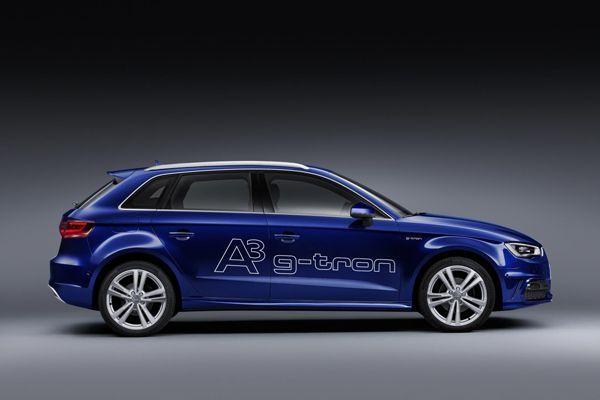 Audi A3 Sportback g-tron 2013 รถติดแก๊ส เตรียมเปิดตัวครั้งแรกในโลกที่เจนีวา