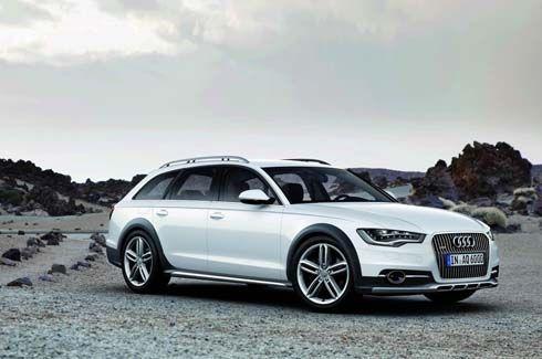 Audi A6 Allroad รุ่นปี 2013 วากอนในแบบ offroad มาพร้อม 4 รุ่นเครื่องยนต์ทางเลือก