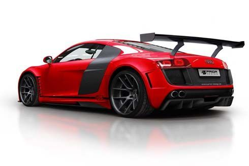 Audi R8 โมดิฟายด์ด้วยชุดแต่งเสริมหล่อ GT850 โดย Prior Design