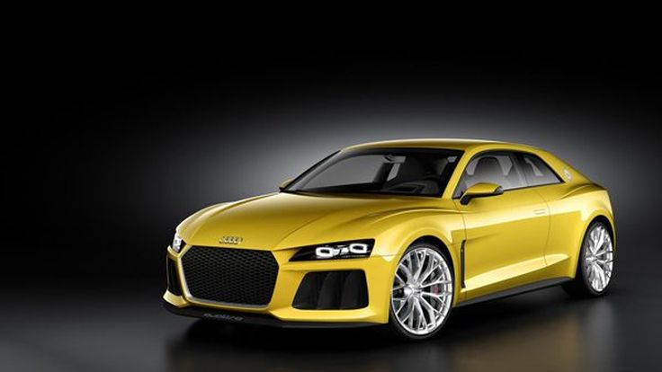 หล่อสุด 2013 Audi Sport Quattro Concept สปอร์ตคูเป้รุ่นต้นแบบใหม่
