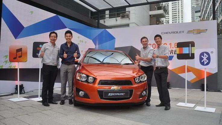 2013 Chevrolet Sonic 1.6 เผยราคาแล้ว  เริ่มต้น 6.67 แสน พร้อมข้อเสนอพิเศษงาน Fast Auto Show