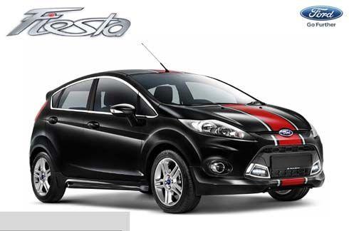 2013 Ford Fiesta Beta และ XTR ตกแต่งเวอร์ชั่นพิเศษ สไตล์มาเลเซีย