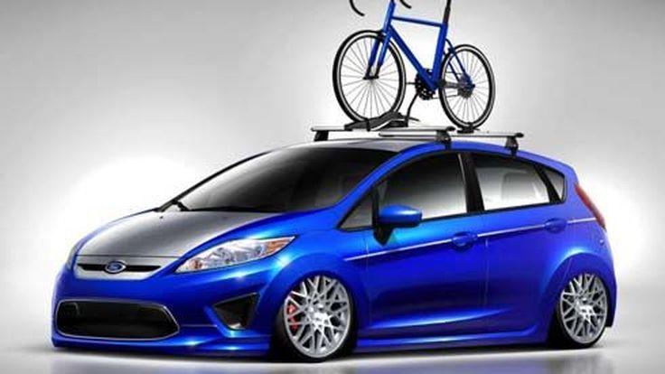 แต่งเต็ม Ford Fiesta 2013 ควงคู่ Taurus SHO ออกงาน 2012 SEMA Show