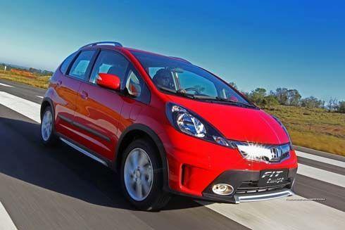 ใหม่ 2013 Honda Jazz / Fit Twist เติมความแข็งแกร่งออกจำหน่ายในบราซิล