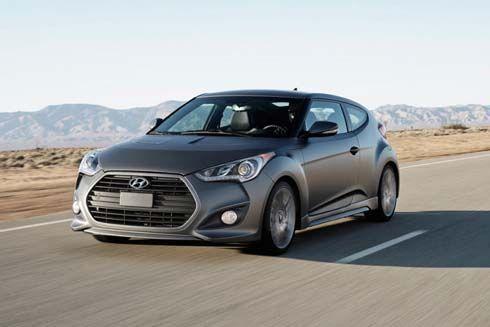 เปิดภาพ Hyundai Veloster Turbo รุ่นปี 2013 สปอร์ตสุดๆ ก่อนเปิดตัวที่ดีทรอยต์