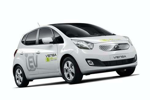 เอาด้วยคน! Kia มีแผนสร้าง Venga EV รถไฟฟ้ารุ่นแรกของบริษัทฯในปี 2013
