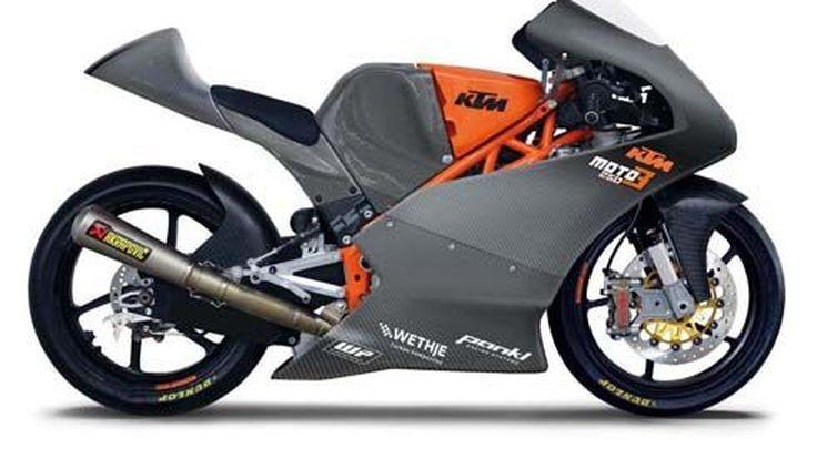 KTM เผยโฉม Moto3 250 GPR ปี 2013 จากสนามแข่ง สู่ซูเปอร์ไบค์บนถนน