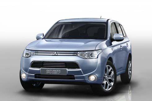 Mitsubishi จ่อโชว์ตัว Outlander PHEV รถ plug-in hybrid ที่ปารีส ขายปีหน้า!