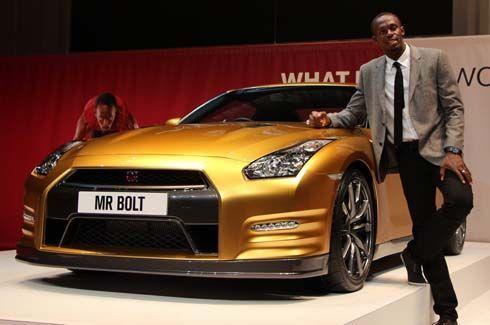 Nissan GT-R Bolt Edition ผนึกกำลังแชมป์โอลิมปิก รุ่นพิเศษคันเดียวในโลก