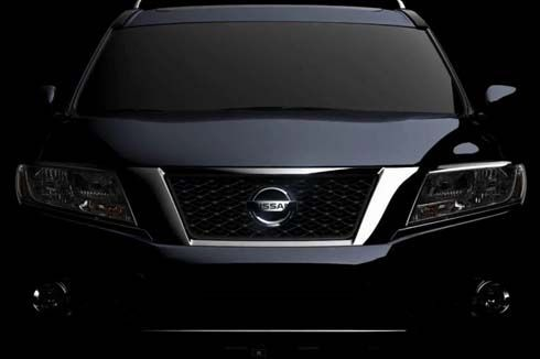 Nissan อวดภาพทีเซอร์ Pathfinder Concept ก่อนเปิดตัวที่ 2012 Detroit Auto Show