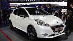 2013 Peugeot 208 Gti ตัวเล็กพลังแรง เปิดตัวที่ 2012 Paris Motor Show