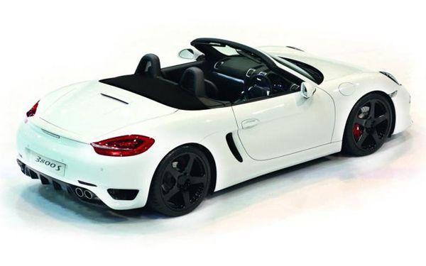 2013 RUF 3800S แพ็คเกจล่าสุดสำหรับ Porsche Boxster และ Cayman
