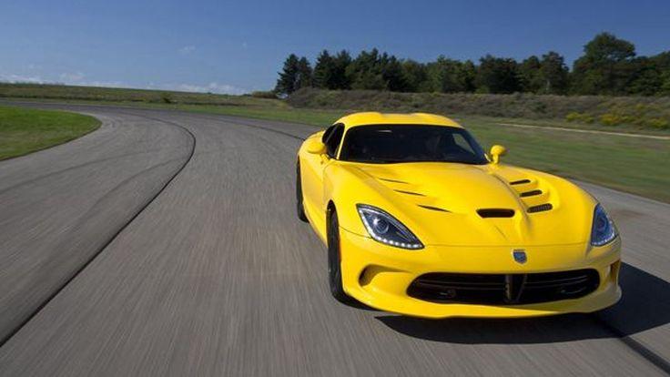 เติมพิษงู 2013 SRT Viper มาพร้อมแพ็คเกจเพิ่มสมรรถนะ Track Pack