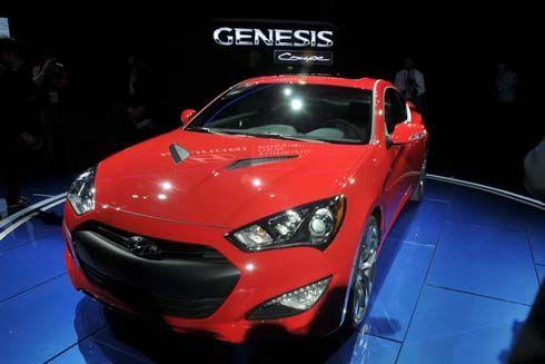 บุกอเมริกา! Hyundai Genesis Coupe โฉมปี 2013 เปิดตัวที่ Detroit Auto Show