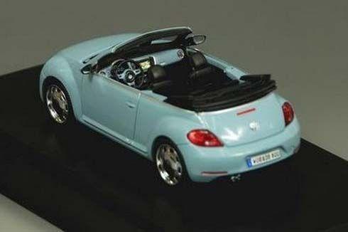 เผยโฉมแรก Volkswagen Beetle Cabriolet รุ่นปี 2013 ในรูปแบบรถโมเดลย่อส่วน