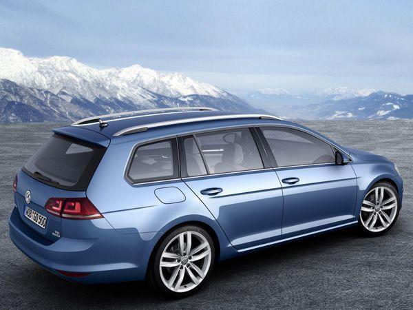 เปิดภาพ Volkswagen Golf Variant 2013 อีกหนึ่งเวอร์ชั่นของรถคอมแพกต์ยอดนิยม