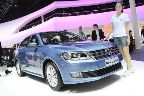 ใหม่ Volkswagen Lavida รุ่นปี 2013 เปิดตัวแล้วในงาน Auto China Show 2012