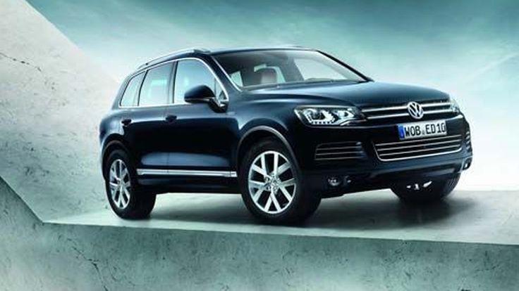 2013 Volkswagen Touareg Edition X เวอร์ชั่นฉลองการผลิตครบรอบ 10 ปีเต็ม