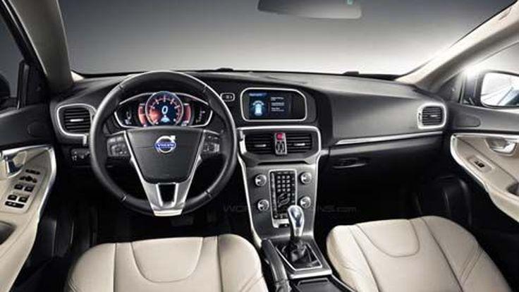 ชมภายในห้องโดยสาร Volvo V40 รุ่นปี 2013 คู่แข่ง A3 Sportback และ 1-Series