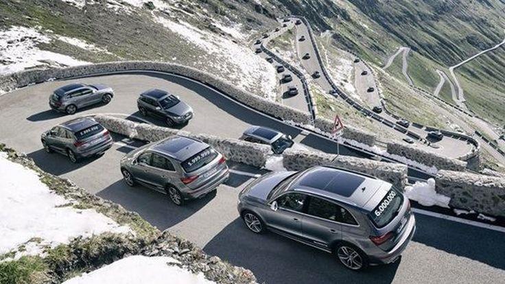 Audi ผลิตรถขับเคลื่อนสี่ล้อ quattro ครบ 6 ล้านคันทั่วโลก