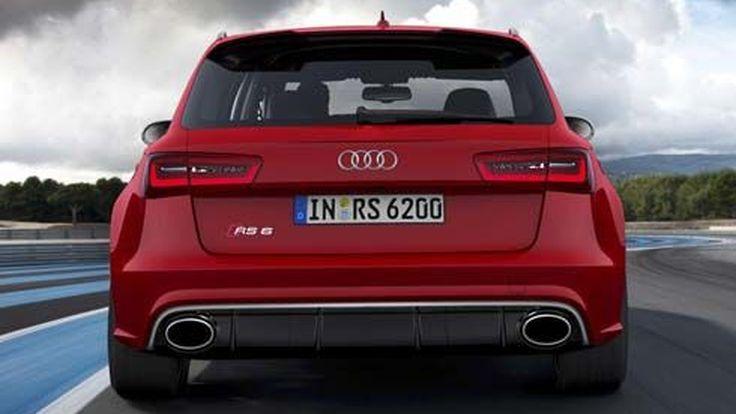 เผยโฉม 2014 Audi RS6 Avant ซูเปอร์คาร์ในคราบรถวากอน พลัง V8 4.0 ลิตร