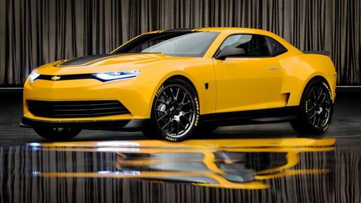 พระเอกตัวจริง! 2014 Camaro Bumblebee Concept รถสปอร์ตต้นแบบรับบทบาทบัมเบิลบี