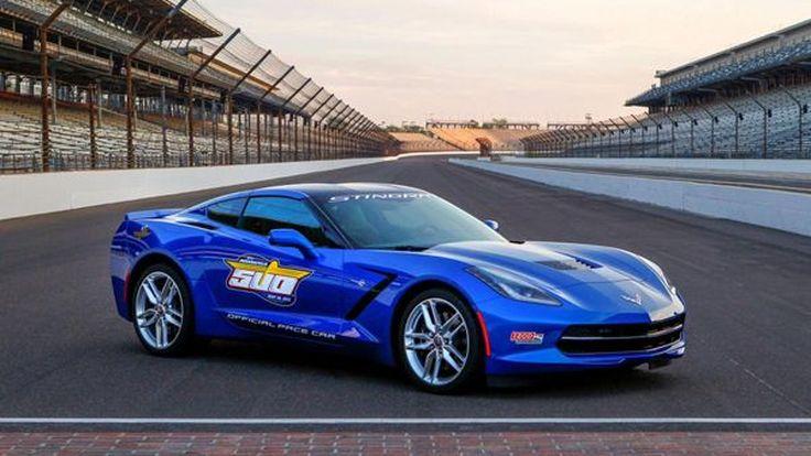 2014 Chevrolet Corvette Stingray เตรียมรับหน้าที่รถนำการแข่งขัน Indy 500