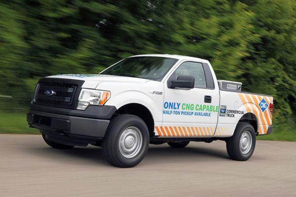 กระบะพันธุ์แกร่งแนวประหยัด 2014 Ford F-150 เพิ่มเวอร์ชั่นติดแก๊ส CNG/LPG