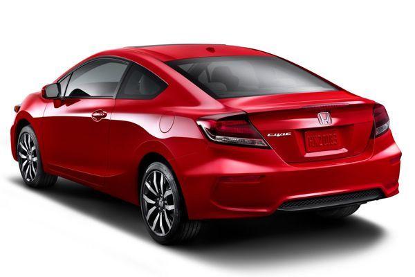 """เปิดผ้าคลุม 2014 Honda Civic Coupe มาพร้อมเวอร์ชั่นแรงรหัส """"Si"""""""