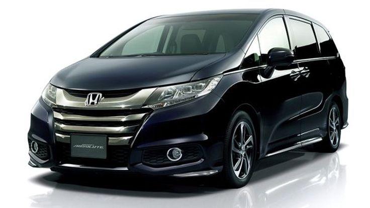ยลโฉม 2014 Honda Odyssey ตัวถังสูงขึ้น หน้าตาโฉบเฉี่ยวกว่าเดิม