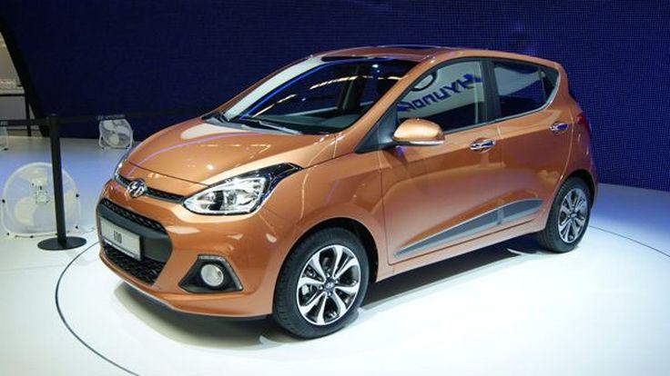2014 Hyundai i10 รถราคาประหยัดโฉมล่าสุด เปิดตัวจริงแล้วที่แฟรงก์เฟิร์ต