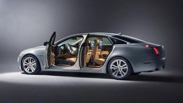2014 Jaguar XJ ซีดานสุดหรูรุ่นปรับโฉม เน้นความสะดวกสบายในห้องโดยสาร