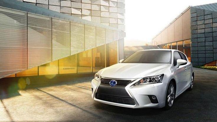 ปรับโฉม 2014 Lexus CT200h เติมความสดใหม่แบบสปอร์ต